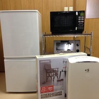 【美品】一人暮らし6点セット まとめ売り 冷蔵庫 空気清浄機 電子...