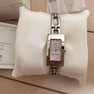 腕時計  ミッシェルクラン ピンクシェル レディース
