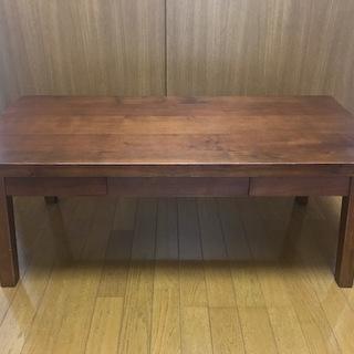 木製ローテーブル1000円