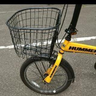 HUMMER 7段 オフロード仕様 折り畳み自転車