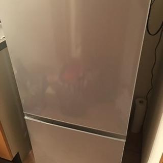 2015年製 AQUA冷蔵庫 1年半のみ使用