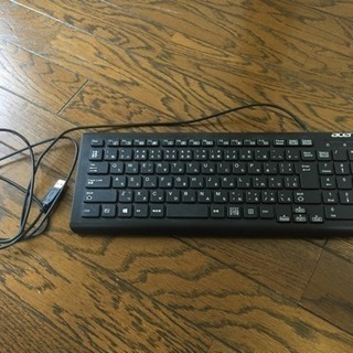 (未使用品)PC用キーボード acer USB