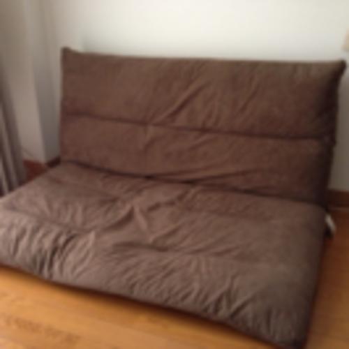 座椅子型ソファーベッド(値下げしました!)の画像