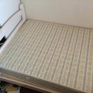 シングルベッドとマットセット