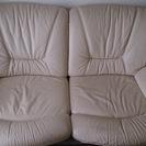 ベージュのソファーです