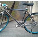 購入1年未満クロスバイク(レユニオン リル/ガンメタ)