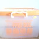 ほぼ新品のプラスティックbox