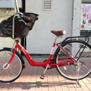 幼児座席付き自転車売ります