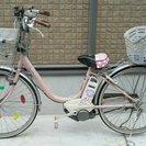 Y.M.C.A.の電動自転車を買って下さい。