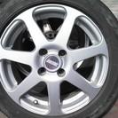 アルミホイール、タイヤ 4本セット 185/55R15