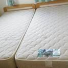 ニトリのシングルベッド(組立式)1セット