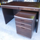 【お取引完了】木製学習机