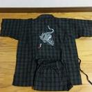 甚平(竜の刺繍入り)size120