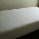 【値下げ 無印良品 シングルベッド】売ります。