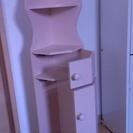 交渉中  トイレコーナー収納棚