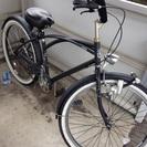 変速なし ビーチクルーザー風自転車