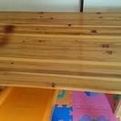 木製家具 机