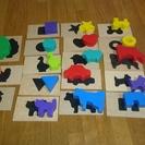 木製パズル。三芳町での受け渡しで、お譲りいたします。