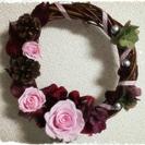 ブリザードflowerでクリスマスリース&お正月飾り✧手作り体験♬*