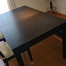 IKEAのダイニングセット  良品  長辺140~180cm