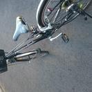 ブリジストン 22インチ  黒 自転車 値下げ!