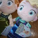 引越しのためアナと雪の女王アナとエルサぬいぐるみ売ります