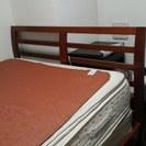 セミダブルベッド あげます。