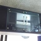 【お取引完了】シンプルブラックテレビボード