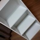 【受付ストップ】カラーボックス 白 1つ300円2つで500円