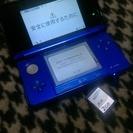 3DS 本体 ソフト2本 2GB SDカード 充電コードセット