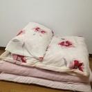 シングル布団3点セット 敷掛け布団枕