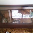 ガラスが入ったローテーブル 4月11日まで取りに来れるかたに差し上...