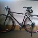 クロスバイク譲ります