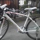 お取り引き中。【美品】走行少ないクロスバイク ラドュール ホワイト