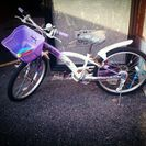 子ども自転車22インチ女の子用!