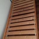 パイル材のシングルベッドです!