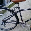 27インチ 昨年秋購入のクロスバイク