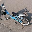 18インチの子供用自転車です。 補助輪もあります。