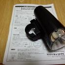 留め具なし自転車ライト 懐中電灯として使ってください