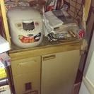 あげます。キッチン棚