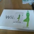 【船橋市土曜受渡し】Wiifitのボードとソフトを差し上げます ジャンク