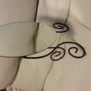 ☆IKEA☆折り畳み式テーブルミラー