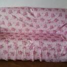 ピンクの薔薇が可愛いマルチカバー