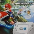 Wiiu  本体 マリオカート同梱セット シロ