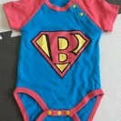 【新品】70サイズ  スーパーマン