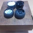 ★碁盤5寸無垢材製 ■古い物です部活や練習用にどうぞ!