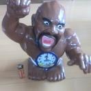 ★リズム時計「ボブサップ」■大型置き時計ジャンク品 置物に!