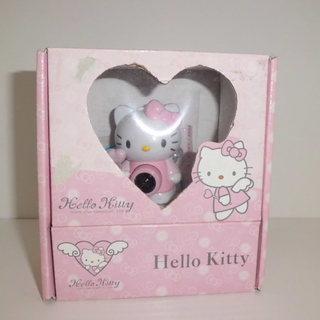 キティのクリップ式でかわいい! 「webカメラ」の画像
