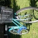 差し上げます。少女用自転車(BS製中古)