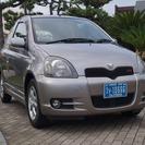 トヨタ ヴィッツ 2001 中古車 禁煙車 取説 キーレス ABS